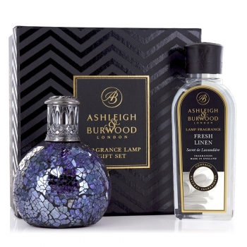Ashleigh & Burwood Geschenkset - Duftlampe All Because & Fresh Linen 250 ml
