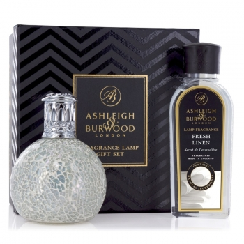 Ashleigh & Burwood Geschenkset - Duftlampe The Pearl & Fresh Linen 250 ml