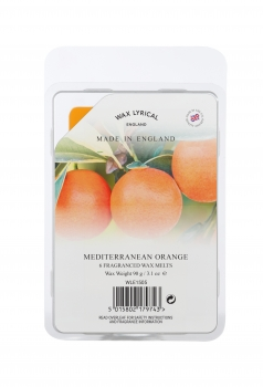 Wax Lyrical Fragranced Wax Melt Mediterranean Orange 90g