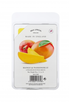 Wax Lyrical Fragranced Wax Melt Mango & Passionsfruit 90g