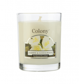 Wax Lyrical - Colony Jasmine & Sandalwood Votiv im Glas