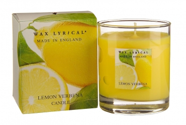 Wax Lyrical Fragranced Boxed Candle Lemon Verbena