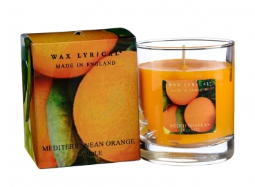 Wax Lyrical Fragranced Boxed Candle Mediterranean Orange