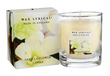 Wax Lyrical Fragranced Boxed Candle Vanilla Flower