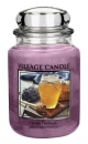 Village Candle Honey Patchouli 645 g - 2 Docht