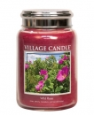 Village Candle Wild Rose 645 g - 2 Docht
