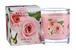 Wax Lyrical Fragranced Boxed Candle Rose Bud