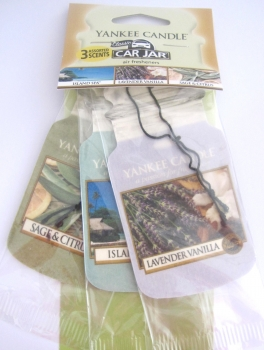 Yankee Candle Spa Day Car Jar 3er Packung