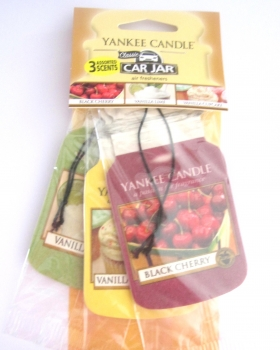 Yankee Candle Afternoon Picnic Car Jar 3er Packung