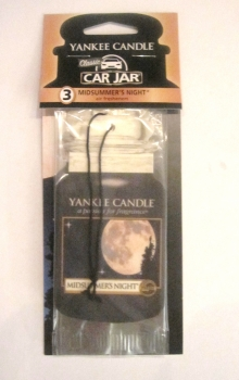 Yankee Candle Midsummers Night Car Jar Bonus Pack
