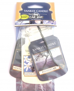 Yankee Candle Evening Stroll Car Jar 3er Packung
