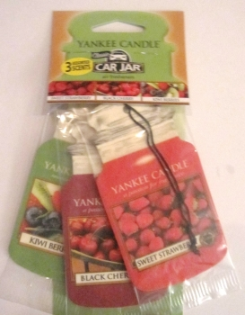Yankee Candle Fruitalicous Car Jar 3er Packung