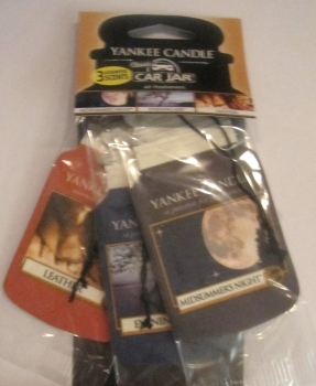 Yankee Candle Cruise Night Car Jar 3er Packung