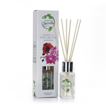 Ashleigh & Burwood - Earth Secrets - Poppy & Pink Orchid Diffuser klein 50 ml