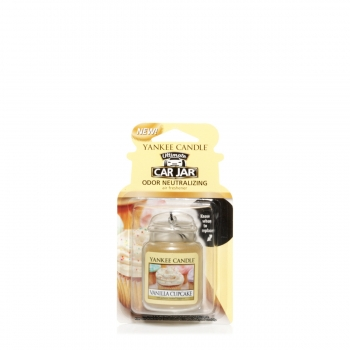 Yankee Candle Vanilla Cupcake Car Jar Ultimate 30 g
