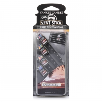 Yankee Candle Black Coconut Car Vent Stick