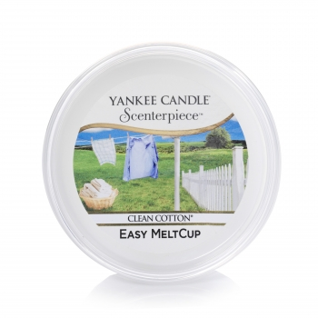 Yankee Candle Scenterpiece Melt Cup Clean Cotton