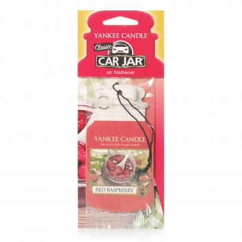 Yankee Candle Red Raspberry Car Jar Single