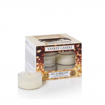 Yankee Candle All is Bright Teelichte 118 g