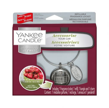 Yankee Candle Charming Scents Linear Black Cherry 4-teiliges Starter Set
