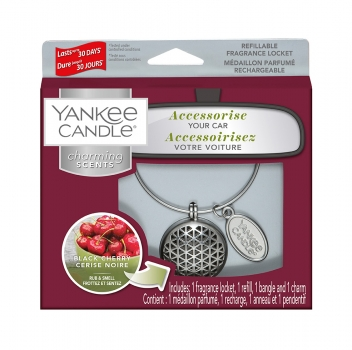 Yankee Candle Charming Scents Geometric Black Cherry 4-teiliges Starter Set
