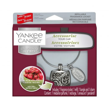 Yankee Candle Charming Scents Square Black Cherry 4-teiliges Starter Set