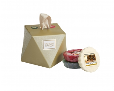 "Yankee Candle Holiday Sparkle ""3er Melts Set """