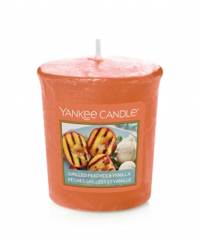 Yankee Candle Grilled Peaches & Vanilla Sampler 49 g