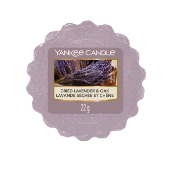 Yankee Candle Dried Lavender & Oak Tart 22 g