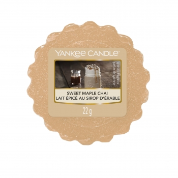 Yankee Candle Sweet Maple Chai Tart 22 g