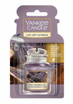 Yankee Candle Dried Lavender & Oak Car Jar Ultimate 30 g