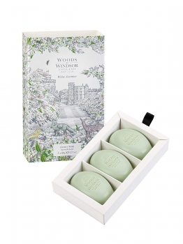 Woods of Windsor - Luxury Soap 3x60 g - White Jasmine