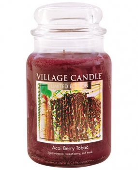 Village Candle Acai Berry Tabac 645 g - 2 Docht