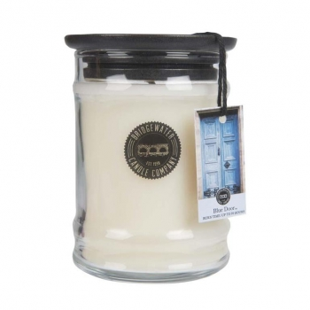 Bridgewater Candle Small Jar Blue Door 250 g