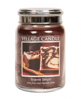 Village Candle Brownie Delight 645 g - 2 Docht