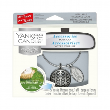 Yankee Candle Charming Scents Geometric Clean Cotton 4-teiliges Starter Set