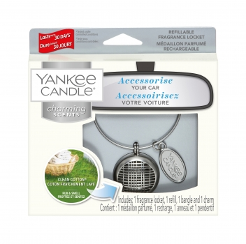 Yankee Candle Charming Scents Linear Clean Cotton 4-teiliges Starter Set