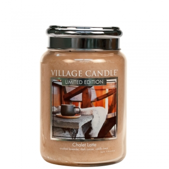 Village Candle Chalet Latte 645 g - 2 Docht
