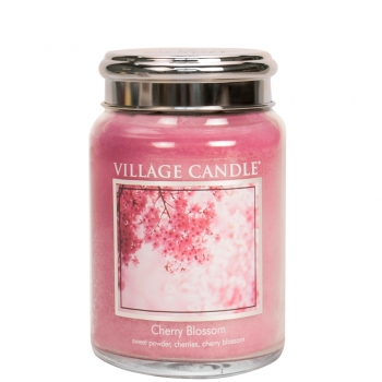 Village Candle Cherry Blossom 645 g - 2 Docht