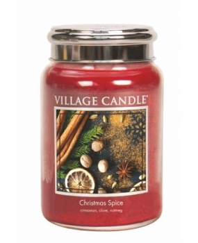 Village Candle Christmas Spice 645 g - 2 Docht