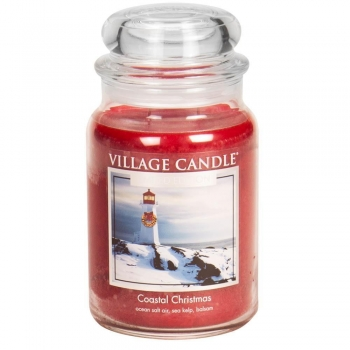 Village Candle Coastal Christmas 645 g - 2 Docht