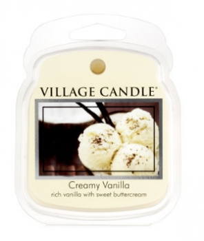 Village Candle Wax Melt Creamy Vanilla 62 g