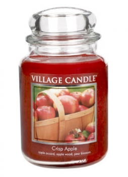 Village Candle Crisp Apple 645 g - 2 Docht