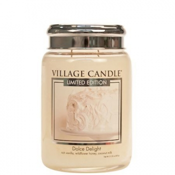 Village Candle Dolce Delight 645 g - 2 Docht