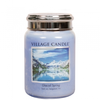 Village Candle Glacial Spring 645 g - 2 Docht