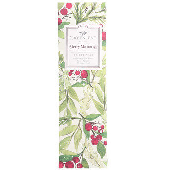 Greenleaf - Duftsachet Slim - Merry Memories
