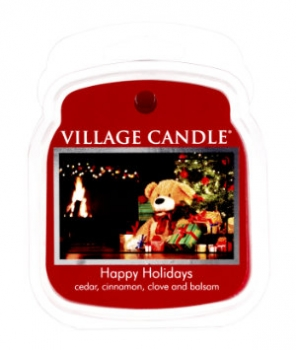 Village Candle Wax Melt Happy Holidays 62 g