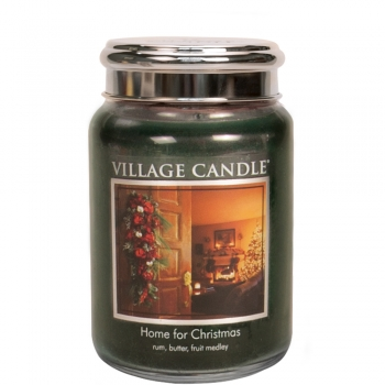 Village Candle Home for Christmas 645 g - 2 Docht