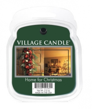 Village Candle Wax Melt Home for Christmas 62 g