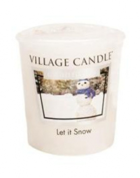 Village Candle Let it Snow Votivkerze 57 g